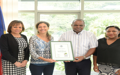 Raffles Seychelles awarded the first SSTL certification for the year 2019